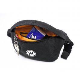 Hipbag(黒)アップサイクルブランド <AIRPAQ 社>
