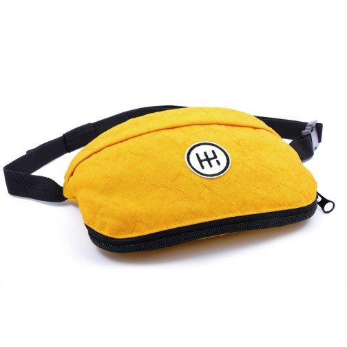 ヒップバッグ黄色よこ